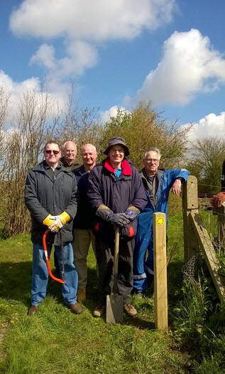 Beverley Footpaths maintenance team