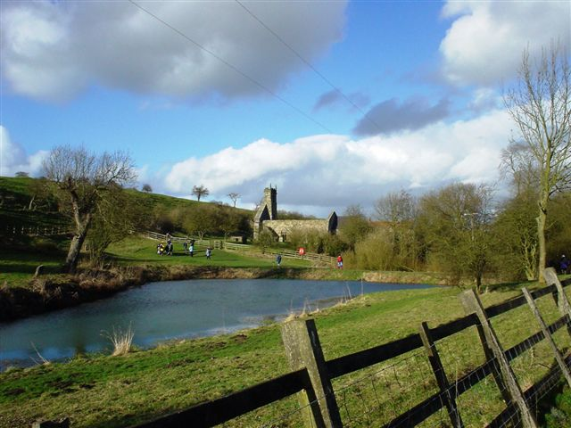 deserted village at wharram percy